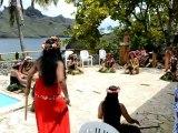 Henua Haka danse au Pearl Lodge 7de16