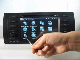 BMW E39 DVD Player, BMW E53 DVD Navigation TV, BMW E39 E53 Radio DVD GPS Bluetooth