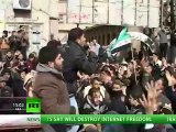 'Free Syrian Army' claims Damascus suburb after fierce fighting