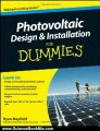Science Book Review: Photovoltaic Design and Installation For Dummies (For Dummies (Math & Science)) by Ryan Mayfield