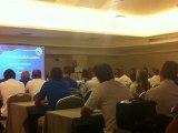 Χαιρετισμός του Γιώργου Σαρρή στους διαιτητές της Super League