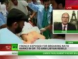 France exposed for breaking NATO ranks arming Libya rebels