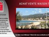 Achat maison T5 Six Fours les Plages vente villas F5 Six Fours 5 pièces à vendre à Six Fours VAR