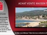 Achat maison T6 Six Fours vente villas F6 Six Fours 6 pièces à vendre à Six Fours les plages VAR