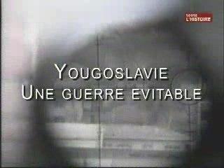 Yougoslavie, une guerre évitable