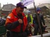 Philippe Croizon remporte son 4e défi dans le détroit de Béring