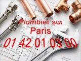 Lavabo bouché Paris 01 40 18 40 40  Plomberie plombier 75