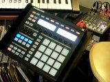 (J.C.A Beats) making a beat using NI Maschine
