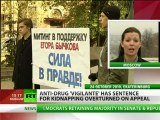 Victory for Justice? Anti-drug 'vigilante' walks free as sentence overturned