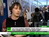 Skin Deep: Body artists make mark on Moscow in tattoo extravaganza