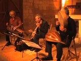 l'Ensemble Tre Fontane  spécialiste des troubadours et de musique médiévale