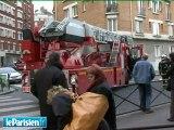 Incendie à Paris : un immeuble évacué dans le XXe