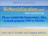 4 Bedroom Waterfront Dennis, Cape Cod Vacation Rental Home with Private Beach & Dock, property 5385