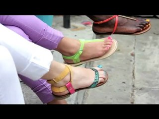 60 seconds to...the PERFECT pedicure