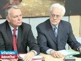 Otan: Jospin, Aubry et Fabius ciblent Sarkozy