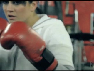 Canadian boxer Mary Spencer gears up for the Olympics