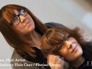 ELLE Beauty Dare: The Freja Cut