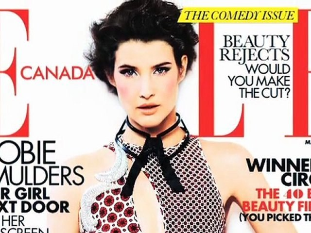 Behind-the-scenes: Our May 2012 cover girl Cobie Smulders