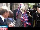 Paris fête la Coupe de France à l'Hôtel de Ville