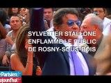 Stallone enflamme le public de Rosny-sous-Bois
