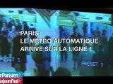 Le métro automatique arrive sur la ligne 1