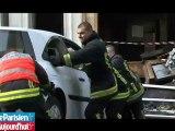 Paris XXe : trois pompiers gravement blessés dans une explosion