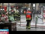 Paris: un violent incendie ravage un magasin de Barbès et fait deux blessés