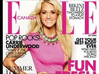 ELLE Canada July 2012 cover shoot: Carrie Underwood