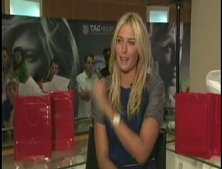 ELLE Interview: Maria Sharapova