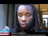 PSG : vers la fin de la mise à l'écart de Peguy Luyindula ?