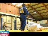 Audrey Tcheuméo, du foot au judo