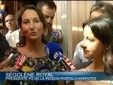 Ségolène Royal fait sa rentrée politique chez les Verts
