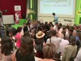 Ségolène Royal aux Journées d'été des Verts