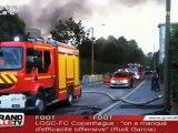 Un incendie ravage l'usine désaffectée de Danone (Seclin)