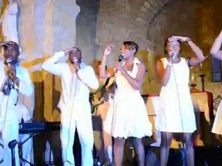 Concert des West Indies Gospel à Payrignac - Festival Gospel Pays de Gourdon 2012