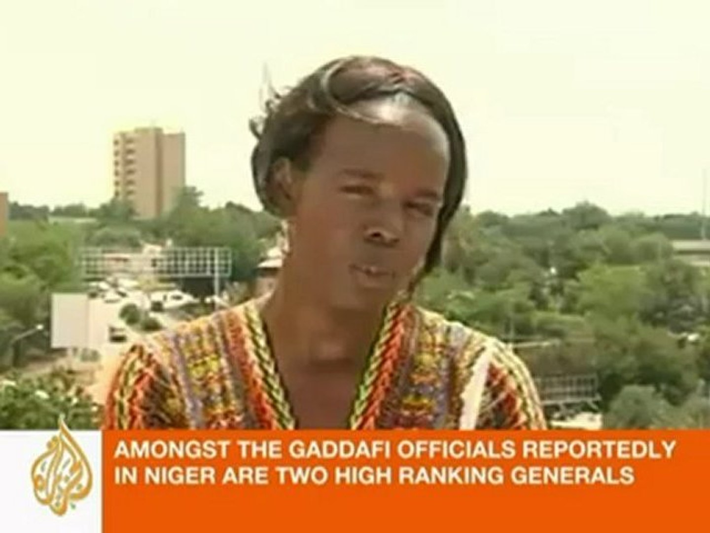Yvonne Ndege reports on Gaddafi forces in Niger