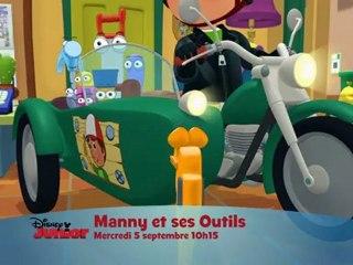 Manny et ses outils nouveaux épisodes sur Disney Junior