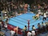 Akira Taue & Toshiaki Kawada vs Kenta Kobashi & Mitsuharu Misawa (AJPW 1995.06.09)