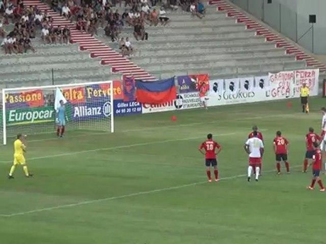 Résumé - GFCA-RC Lens - Ligue 2 J5
