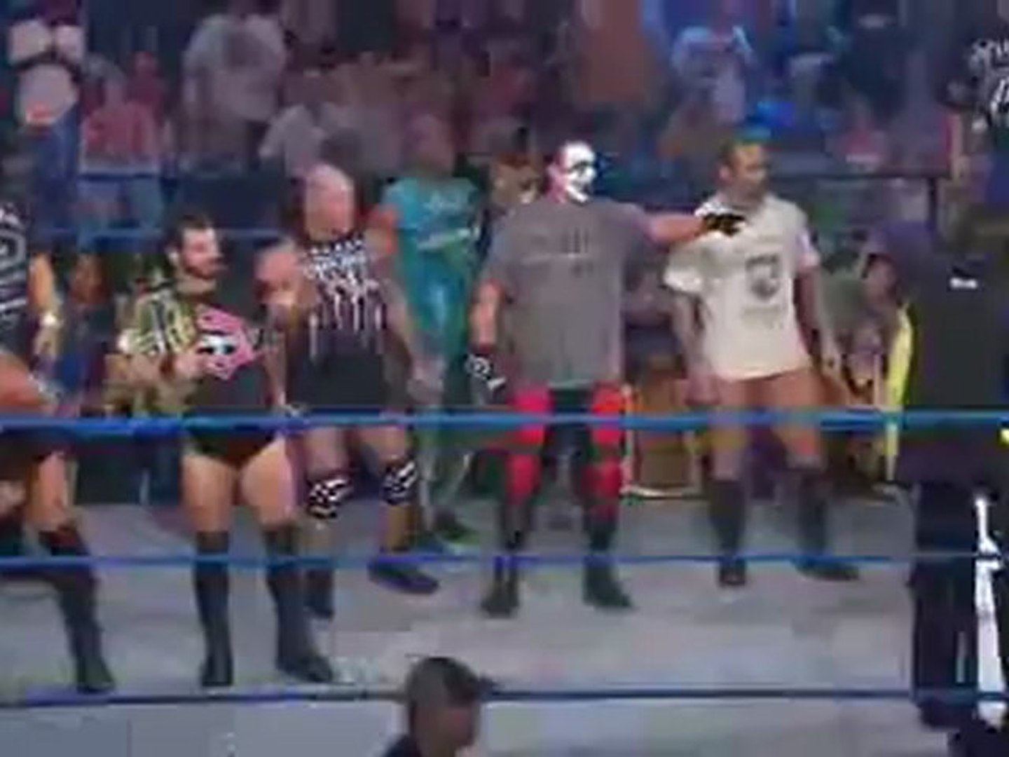 Sting Calls Out The Aces And 8s to Start Open Fight Night(entertainmentwwe blogspot)