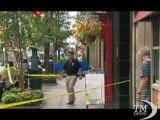 New York, la sparatoria e l'uccisione del killer dell'Empire. Il video ripreso dalle telecamere di sorveglianza