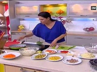 Choumicha - Recette Ramadan : Salade de fruits de mer
