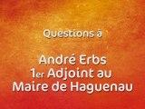 Rallye de France Alsace à Haguenau - Questions à André Erbs, 1er adjoint au maire