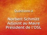 Rallye de France Alsace à Haguenau - Questions à Norbert Schmitt, adjoint au maire, président de l'OSL