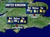 UK Weather Outlook - 08/28/2012
