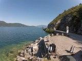 Lac du bourget plus grand lac de france deep ccr tartiflette team juin 2012