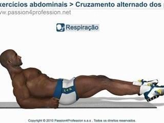 Exercício abdominais inferiores