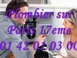 Plombier Paris 17eme 01 40 18 40 40 Plomberie 75017