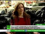 US cities spending splash blinds City Hall from human cost of cuts