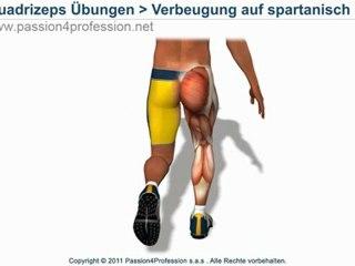 Verbeugung auf spartanisch (Spartaner training)